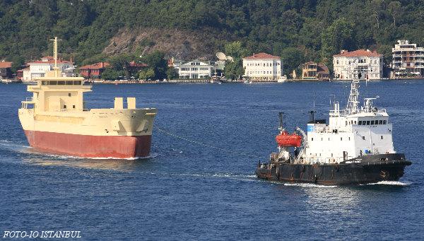 Towing Operation at Bosphorus