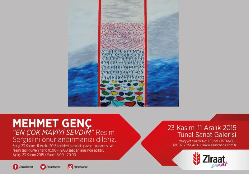 Deniz Sevdalısı Ressam Mehmet Genç'in Resim Sergisi İstanbul Tünel Sanat Galerisi'nde